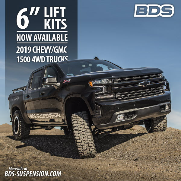 6 Inch Lift Kit For Chevy 1500 4wd >> 2019 To 2020 Silverado Sierra 1500 6 Inch Lift Kit
