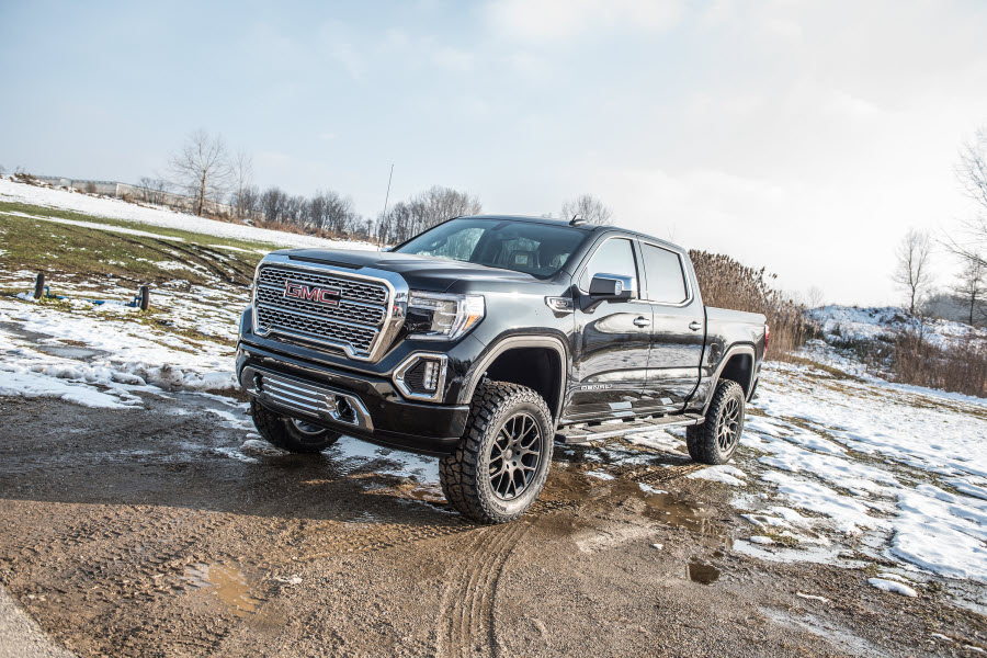 Lifted Gmc Sierra >> 2019 To 2020 Gmc Sierra Denali With Arc 6 Inch Bds Suspension Lift Kit