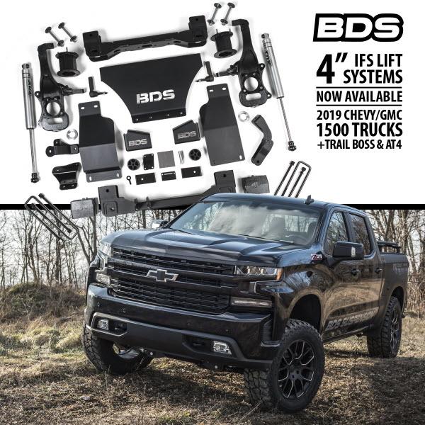 BDS Suspension 2019 to 2020 Silverado / Sierra 1500 4 inch ...
