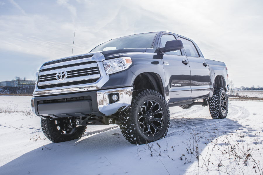 Zone Offroad 3/'/' Leveling Suspension Lift Kit for 2007-2018 Toyota Tundra 2//4WD