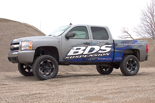 Bds Suspension 6 Lift Kit For 2007 To 2013 Chevy Gmc 1500 Series 4wd