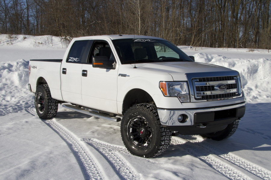 Zone Offroad 4 Suspension Lift Kit For 2014 Ford F150 Trucks