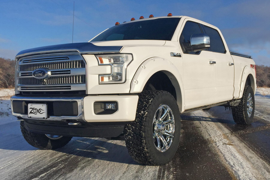"""Zone Offroad 4"""" Suspension Lift Kit for 2015 to 2016 Ford ..."""